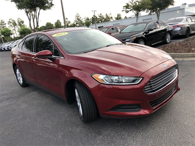 Pre-Owned 2015 Ford Fusion S
