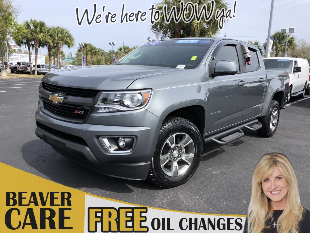 Certified Pre-Owned 2020 Chevrolet Colorado Z71