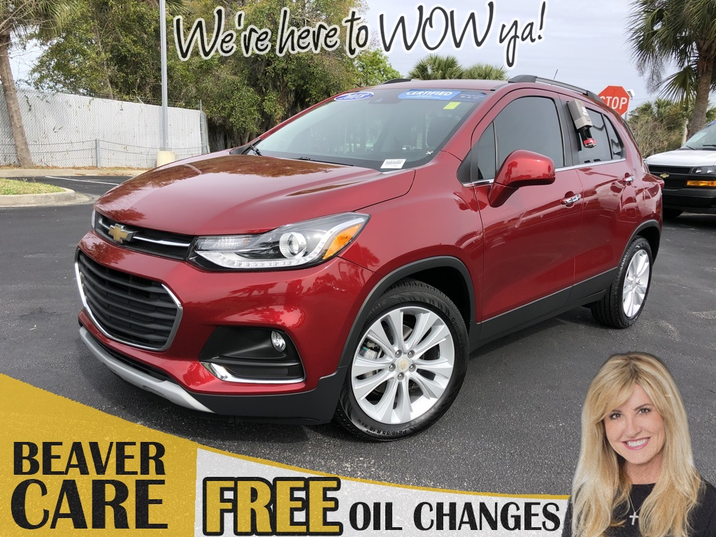 Certified Pre-Owned 2018 Chevrolet Trax Premier