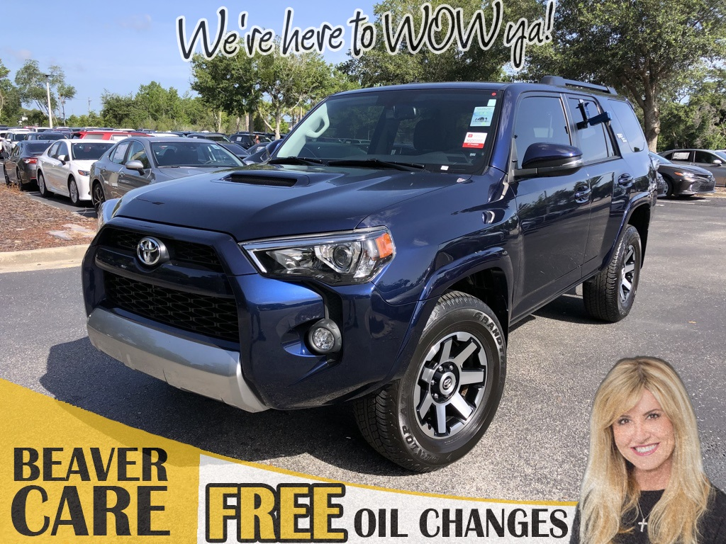 Certified Pre-Owned 2019 Toyota 4Runner TRD Off-Road Premium