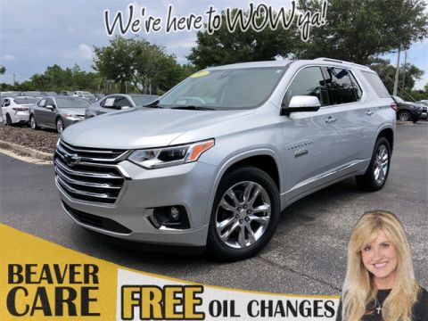 Pre-Owned 2018 Chevrolet Traverse High Country