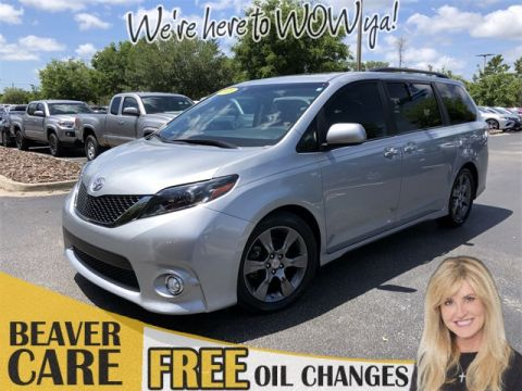Certified Pre-Owned 2015 Toyota Sienna SE Premium