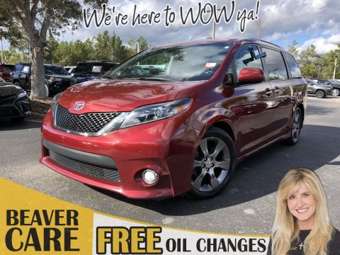 Certified Pre-Owned 2015 Toyota Sienna SE