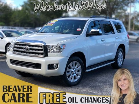 Certified Pre-Owned 2017 Toyota Sequoia Platinum