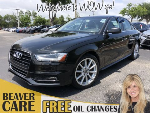 Pre-Owned 2015 Audi A4